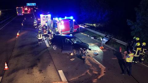 Unfall Langeselbold A45 A66