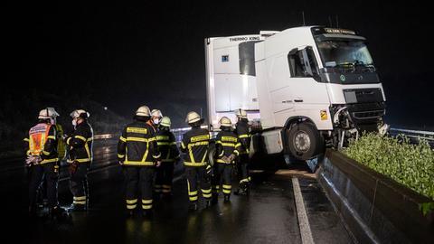 Lkw Unfall A5 Bad Homburg