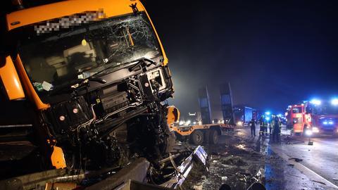 Lkw-Unfall auf der A5