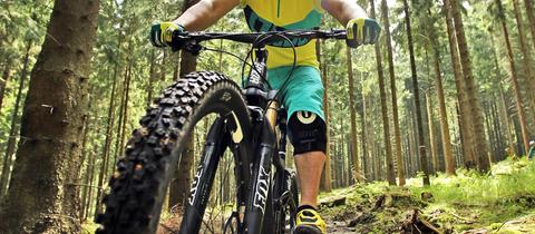 Mountainbike Singletrail