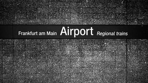 Regionalbahnhof Frankfurt Flughafen
