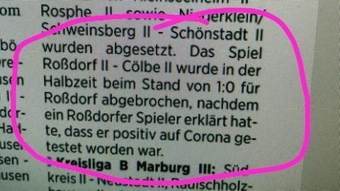 Dieses Fundstück stammt aus der Oberhessischen Presse.