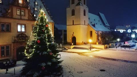 Schnee in Groß-Umstadt