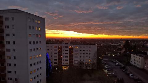 Sonnenaufgang Hattenheim