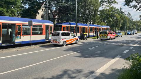 Tram Unfall Darmstadt