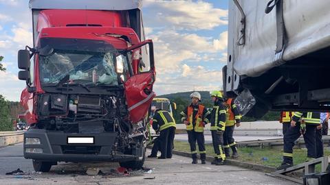 Lkw-Unfall A5