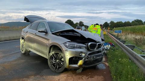 Unfall BMW A4