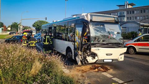 Unfall Bus Langen