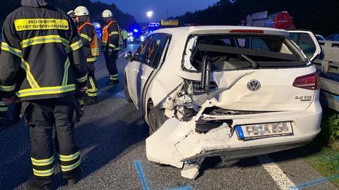Unfall am Hanauer Kreuz