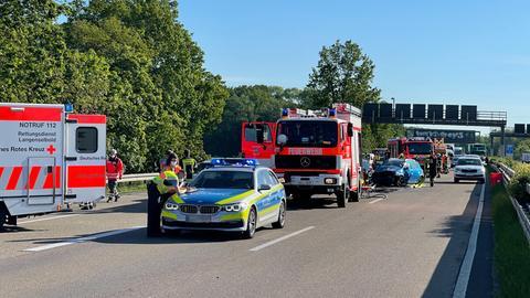 Unfall auf der A45