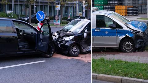Unfall Polizei Frankfurt