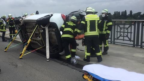 Unfall Rheinbrücke
