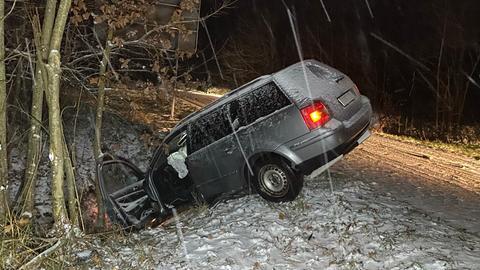 Unfall Schnee