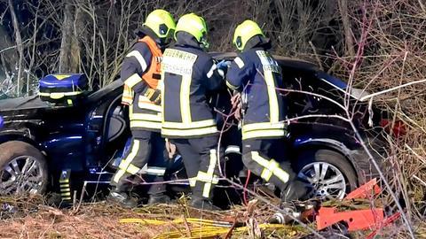 Unfall bei Lorsch