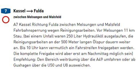 A7 Nach Lkw Unfall Gesperrt Fulda Ist Erste Sternenstadt