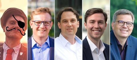 Kombo mit 5 Kandidaten