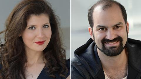 Florina Ilie (Sopran) und Theo Lebow (Tenor)