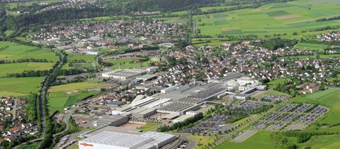 Allendorf (Eder) aus der Luft