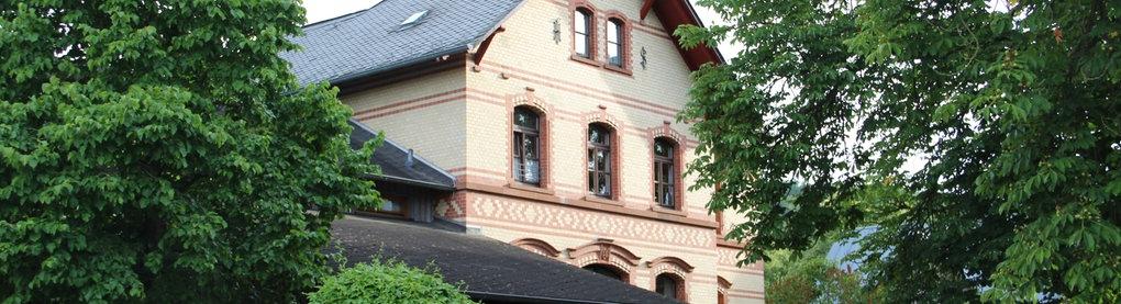 Allendorf (Lumda), Alter Bahnhof