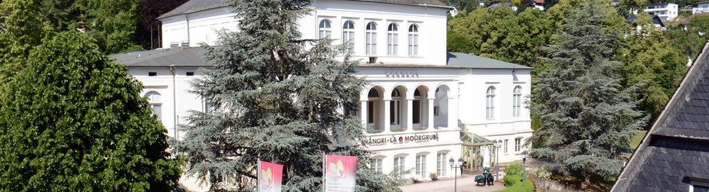 Das Kurhaus von Bad Schwalbach