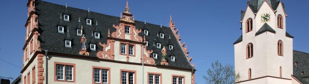 Der Marktplatz von Groß-Umstadt
