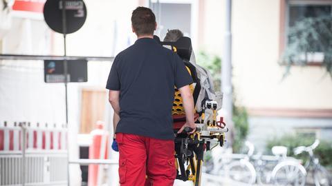 Evakuierung des Bürgerhospitals