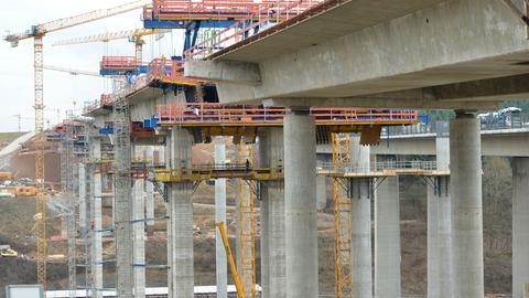 Neue Lahntalbrücke