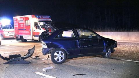 Unfall auf der A5