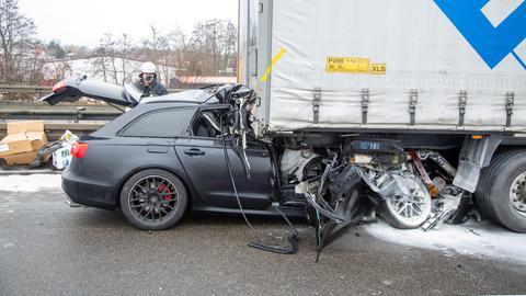 Unfall A5 Alsfeld