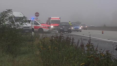 Der Unfall ereignete sich im Nebel.