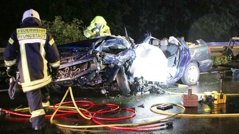 Tödlicher Unfall auf A67 bei Gernsheim