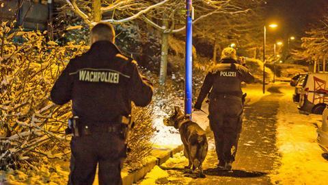 Polizei Suche Abschiebung Wiesbaden