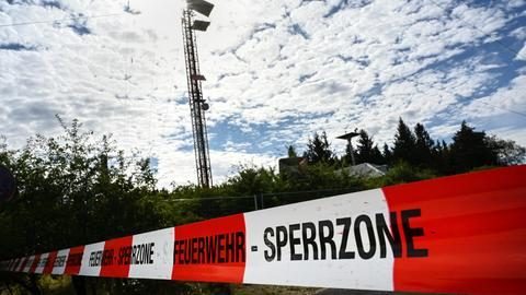 Feuerwehr Absperrung Meißner