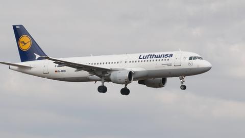 Ein A320-200 der Lufthansa