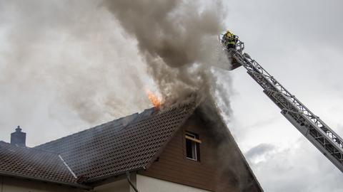 Feuerwehreinsatz in Alsfeld