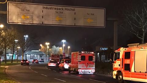 Feuerwehr am Industriepark Frankfurt-Höchst