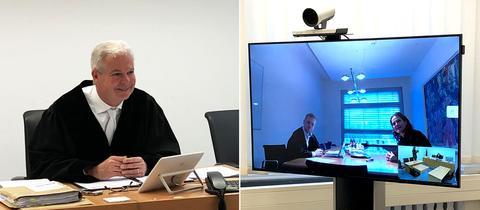 Erste Videoverhandlung im Zivilprozess am Amtsgericht Frankfurt