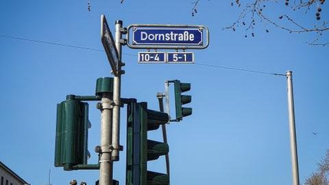 Bald neu in Wiesbaden oder nur ein Aprilscherz? Die Dornstraße.