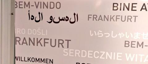 Falsches Arabisch Frankfurt