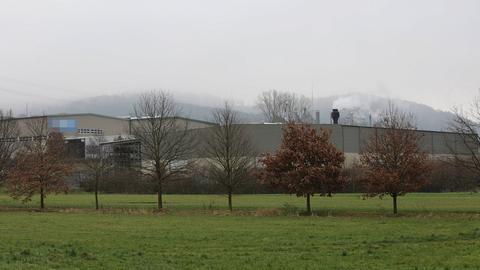 Ansicht des Unternehmens in Bad Hersfeld, wo der Arbeiter starb