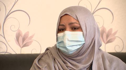 Mujdah Ismaili, Mutter des vor viereinhalb Jahren verschwundenen kleinen Aref