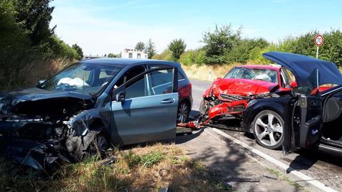 Unfall auf B3
