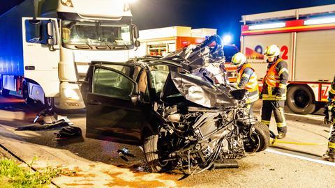 Tödlicher Unfall A3 Bad Camberg