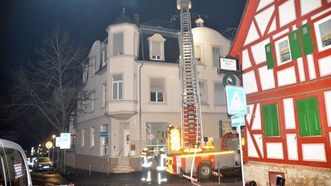 Feuerwehr in Bad Nauheim im Einsatz.