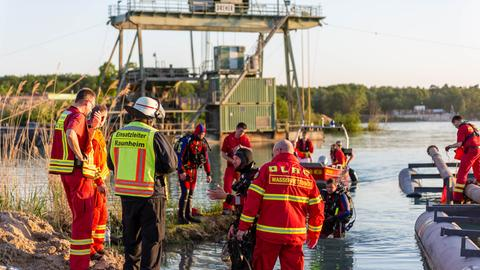 Rettungskräfte suchen nach dem vermissten 23-Jährigen