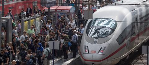 Zugausfälle am Frankfurter Hauptbahnhof