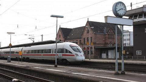 Bahnhofsgebäude in Bad Hersfeld