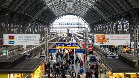 Bahnhofshalle Frankfurt