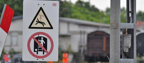 Bahnhof Kranichstein Unfall