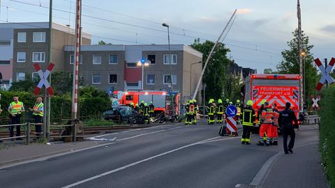 Tödlicher Zugunfall im Frankfurter Stadtteil Nied